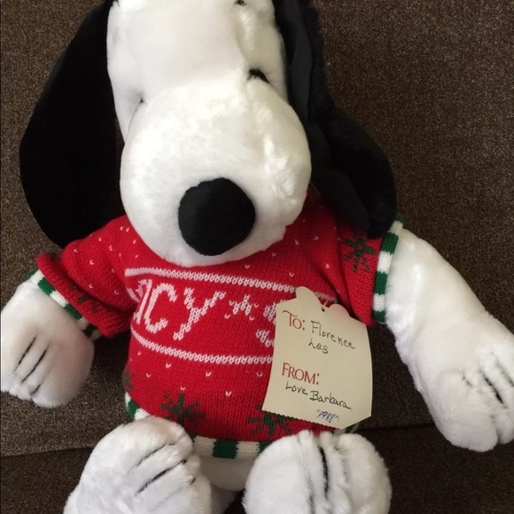 Macy S Other Christmas Gift Vintage Snoopy Dog Size 19 Poshmark